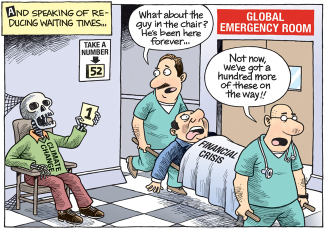 Emergency Room Waiting Cartoon Desperate times...